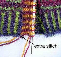 extra stitch